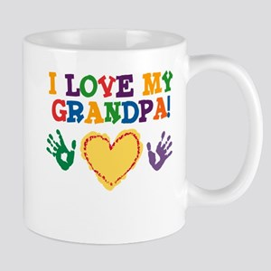 I Love My Grandpa Mug